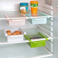 beverage drawer - Hot Kitchen Fridge Freezer Space Saver Organizer Storage Rack Shelf Holde Drawer