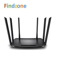 Wireless tp-link - TP LINK TL WDR7400 Mbps AC Dual Band Wireless Router Wall Penetrating Antennas Intelligent WIFI Mobile APP Management
