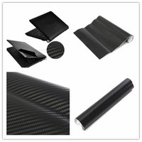Wholesale 3D Carbon Fibre Skin Decal Wrap Sticker Case Cover For PC Laptop Notebook