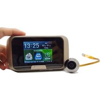 Wholesale 2016 Hot Ultra thin Inch TFT LCD Visual Digital Peephole Door Viewer Camera Video Doorbell