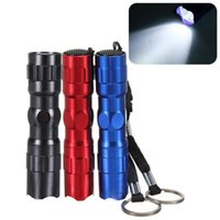 aa key - Keychain Super Mini W AA Led Handy Waterproof Flashlights Torch For Outdoor Camping HikE Free DHL