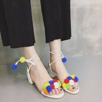 awards hair - Women shoes new design crystal heels awards tstrap types dress shoes pumps Colored hair ball style fancy girls shoes b141