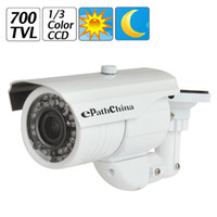 Wholesale 1 quot Sony Effio E Color CCD Sensor TVL mm Varifocal Lens IR LED Infrared Waterproof Security Camera OSD Menu