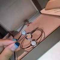 Wholesale New Arrival type bracelet openings high quality accessories girls Rose Gold Silver Hand ring The new bracel