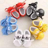 china shoes children - 2016 PU newborn baby toddler soft soled casual shoes Children walking balance exercise lace walking shoes china hot sale CL
