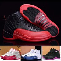 air hockey game - Top quality Air Retro XII Women Basketball Shoes retro s Flu Game Sneaker Boots sports shoes For Girl US5