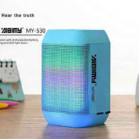 Wholesale 2015 New Aibimy my BT LED light bluetooth speaker active subwoofer mini wireless portable speakers for iphone samsung