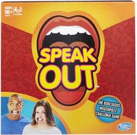 Wholesale Let s play Speak Out Game KTV party newest toy Board Game Interesting Party Game for christmas high quality xmas gift