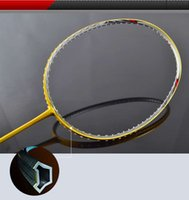 Wholesale 2016 Sport dexterous Badminton Rackets kids High Quality Durable Badminton Racket Racquet Carbon Fiber Badminton Racket Own brand