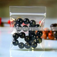 Wholesale 7x11cm mm small thick Jewelry self sealed bags plastic anti oxidation bag plastic clear package bag