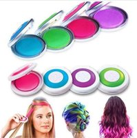 Wholesale factory price rainbow Hair Chalk Powder Fashion Temporary Hair Chalk Hair dye Tool Have Hot Pink Blue Fuchsia Neon Green Mix Color