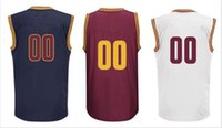 anti support - cleveland Custom jersey THROWBACK basketball JERSEY Support mixed order