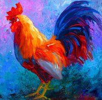 Wholesale Giclee hot shot rooster arts and canvas wall decoration art Oil Painting on Canvas X90cm MRR200