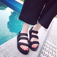 beach vietnam - sandals Korean wind three Rome port Harajuku cloth all match Vietnam beach shoes shoes