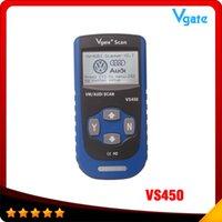 audi vs bmw - 016 Hot selling VS450 VAG CAN OBDII SCAN TOOL Vgate VS code reader scanner high quality