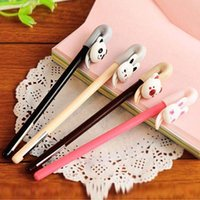 Wholesale 20pcs Cute Cartoon Gel Pen Pens For Writing Stationery Accessories Gifts Office School Supply Papelaria