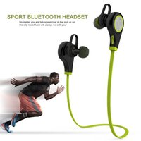 Wholesale Bluetooth Headset Sports Wireless Fashion Stereo Earphone Headset Running With Microphone Five Color For Iphone LG etc