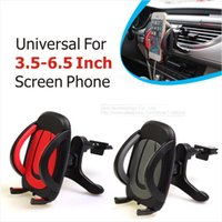 ABS air vent screen - Universal Stand Car Holder For Inch Screen Phone Car Air Vent Mount Holder Car Stand For Your Mobile Phones Holders