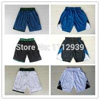 Wholesale Cheap New Minnesota Men s Shorts Basketball Sports Shorts Dwyane Wade Shorts Rev Embroidery