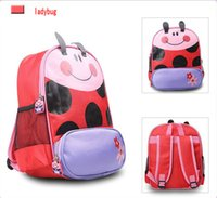 animal purse for kids - Kindergarten Preschool Backpack For Boys Girls Children Animal Fanny Backpacks Kids Lunch Bag Coin Purse DHL