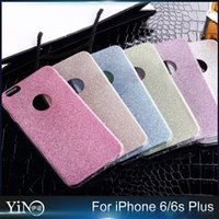 anti shine powder - Luxury Bling Shine Colorful Glitter Powder TPU Back Cover Fashion Anti knock Phone case for iPhone s Plus