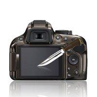 Купить Оптическая панель-Clear Оптический закаленное стекло ЖК-экрана панели фильма протектор 0.4mm HD защитообразующих водонепроницаемый чехол для Nikon D5100 5200 NEW