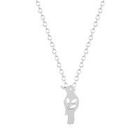 al por mayor collares populares iniciales-1pcs Nuevo regalo de boda lindo popular del collar de la inicial del pájaro para las mujeres y el regalo de boda de las muchachas para las mujeres y las muchachas