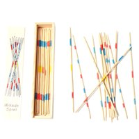 Wholesale Educational toy materials classic math puzzle toys for baby multiplayer games caesar stick Count pick sticks game