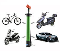 Wholesale Portable Alloy Bike Bicycle Mountain Bike Cycling Manual Air Pump Bicycle Tire Inflator Schrader Valve Bicycle Accessories