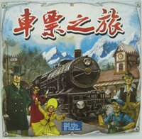 Wholesale Ticket to Ride RAILWAY task Solitaire Version Layout Version board game strategy game