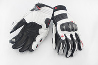 Wholesale 1606 The newest Motorcycle Racing cowhide gloves touchscreen phone Country Off Road MTB