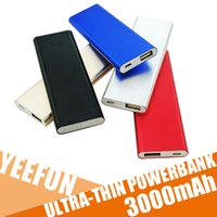 bank fines - Fine Power Bank Ultra Thin Mini Polymer Rechargeable Treasure Nesting Aluminum Shell Charging Treasure Mobile Universal Mobile Power mAh