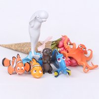 action figure collectors - New Design set cm Finding Nemo Marlin Dory Collectors Action Figure Toys Christmas Gift Doll