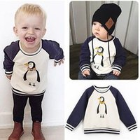age penguin - Baby Boys Jumper Penguin Long Sleeve Printed Sweater Aged Y Hot