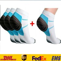 free size pain case - Veins Socks Compression Socks With Spurs arch Pain Unisex Cotton Thermoskin FXT Plantar Short Socks Foot Cases Supply HH S38