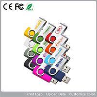 Wholesale swivel USB Flash Drive memory usb stick U disk pen drive USB USB GB GB GB pendrive