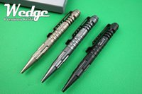 Wholesale WEDGE Photos New LAIX B5 Black Gray Gold Tactical pen Defense Survival Portable Survival Pens Aviation Aluminum Camping security Tool