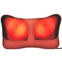 Wholesale Infrared Therapy Heating Car Home Use Massage Device Neck Massage Pillow Back Massager Car Massager Cushion Car Seat Covers Headrest