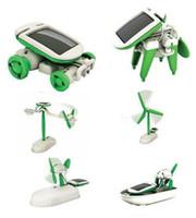 Wholesale To assemble the machine toys Piece Fashion New in Educational DIY Solar Kit Robotikits Toy Christmas Gift