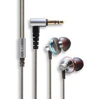 aerospace titanium - EX1 Hifi Earphones Studio Metal Stereo Music Headphone Aerospace Nanotech Titanium Super Bass noise cancelling and