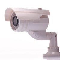 Wholesale Mock Bogus Emulatie Dummy Emulate Simulatie Camera Indoor Outdoor Behuizing met Light Fake Camera