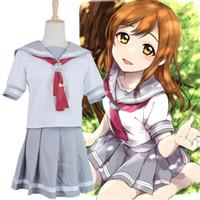 Wholesale LoveLive Love Live Sunshine Aqours Takami Chika Sailor School Uniform Cosplay Costume
