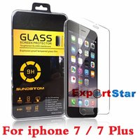 Wholesale Tempered Glass For Iphone Plus S S Samsung Galaxy S7 S6 Note Tempered Glass Screen Protector mm D