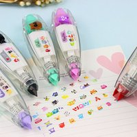 Wholesale 4pcs Correction lace stationery lace push Correction Tape cute necessary modifications with characteristic creativity diary