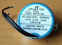 Wholesale ac motor Oscillating fan synchronous motor TY A shake head fan AC V W CW CCW fan parts accessories induction motor