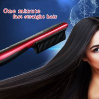 als style - Magic ALS Hair Straightener Rotatable Power Line Button Control Straight Hair Comb same as KD style Brush US UK EU Plug OM CH6