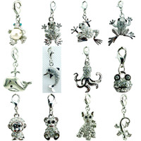 best price charms - Popular DIY Mix Sale Brand New Price Best Selling High Quality Fashion Frog Lobster Clasp Charms For Jewelry Accessories