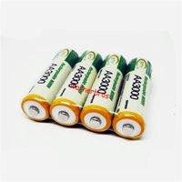 aa player - 4pcs AA mAh V Ni MH rechargeable battery cell NIMH rechargeable batteries pack for Toys remote control digital Camera MP3 player