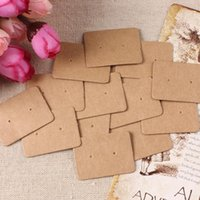 Wholesale Vintage Earrings Hold Card Jewel Accessories Place Card Handmade Jewelry Gift Packing Paper Holder
