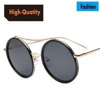 big quality mirrors - High quality new fashion sunglasses European and American big frame sunglasses Dazzling color film reflective sunglasses